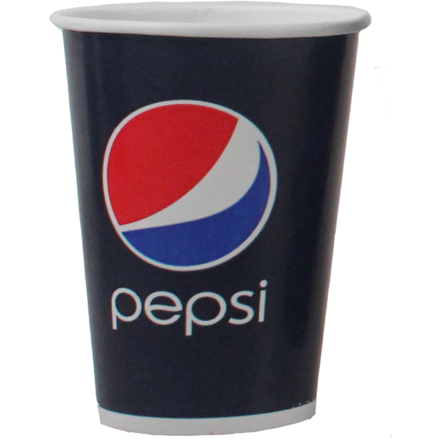 Pepsi, Cold cup-beker, Karton/Coating, 500ml, 22oz, 168mm, blauw/Rood 1
