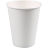 Hot cup-beker, Karton/PE, 300ml, 12oz, wit