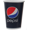 Pepsi, Cold cup-beker, Karton/Coating, 300ml, 12oz, 119mm, blauw/Rood