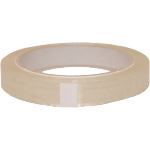 Officetape, PP, 15mm, 66m, transparant